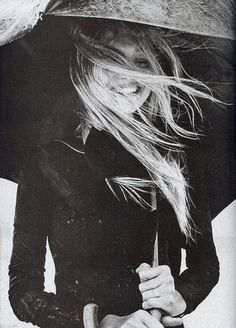 rain rain come today #rain #wind #hair #umbrella #smile