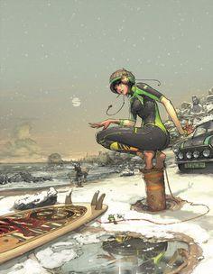 Folio illustration agency, London, UK | Gez Fry Manga ∙ Anime ∙ Comic ∙ Contemporary ∙ Publishing ∙ Advertising Illustrator #gez f