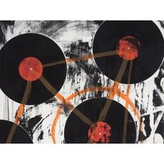 Artspace: Inspace Trade Program #white #print #orange #multi #contemporary #black #music #media #records