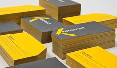 Konstruct by Ghost #stamp #business #card #paper #foil #duplex