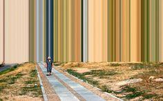 Landscape Photography Melts into Color Fields #photo #landscape #digital #colors #german