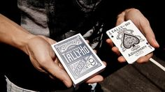Tally-Ho Titanium Edition Playing Cards - theory11.com #spades #of #playing #ace #ho #cards #tally