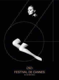 Cannes 2011 : l'affiche (élégante) est dévoilée » Le Blog d'Ecran Noir #cannes #poster #film
