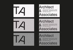 TADAO ANDO Architect & Associates - Visual Identity on Behance