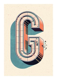 typeverything.com,Andrew Fairclough #illustration #type #3d