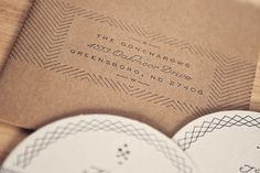 Goncharow Wedding - ROSS CLODFELTER #save #design #letterpress #the #invitations #dates #wedding #coaster
