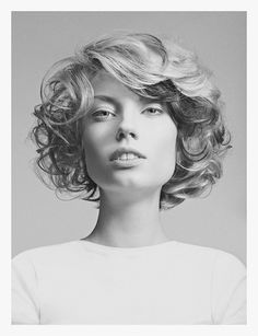 G+B on Behance #hair #style #salon #lady