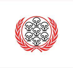 ONU kills #nobel #illustration #peace #lined