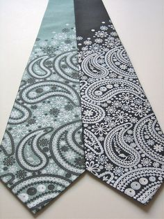 Paisely Ties #ties #paisely #menswear