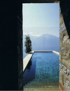 Fresh air for free #perspective #pool #architecture #water