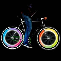 Mathmos Bike Wheel Lights #tech #flow #gadget #gift #ideas #cool