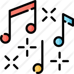 See more icon inspiration related to music and multimedia, music player, musical notes, quaver, musical note, musical and music on Flaticon.