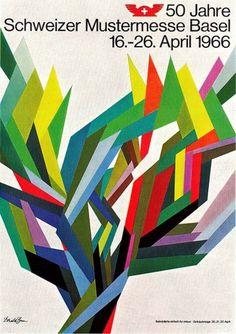 All sizes | Donald Brun Illustration | Flickr - Photo Sharing! #illustration #poster #donald brun #50th #swiss #industries #fair