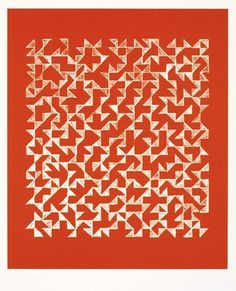 The Josef & Anni Albers Foundation #anni #offset #photo #geometric #ii #double #albers #impression #1978