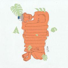 Self-Love #illustration #multiply #fivepanel #art #design #selflove #ribofadam #dust #illustrator