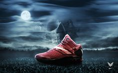 Nike Fright Night on Behance #fright #halloween #night #nike #poster
