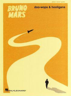 Bruno Mars: Doo Wops #simple #vector #minimal