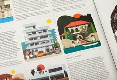 Monocle Summer | Hey #magazine #design #illustration #layout #monocle