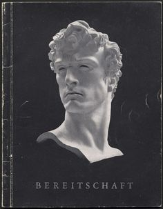 MISSING IMAGE #sculpture #book #cover #bust #vintage