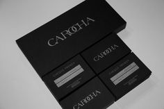 BOUTIQUE CAROCHA #logotype #visual #logos #branding #design #corporate #carocha #identity #stationery #fashion #logo