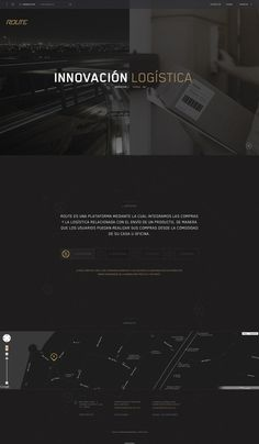 Route on Behance #digital #route #web #webdesign