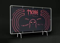 tribe_mockup_fence_banner_2 #flyer #poster #party #drumandbase #banner