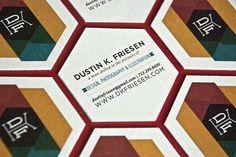 Dustin K. Friesen | Lovely Stationery #business #card #design #dustin #friesen