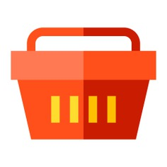 See more icon inspiration related to basket, supermarket, commerce and shopping, shopping basket, shopper and store on Flaticon.