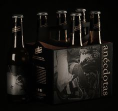 San Miguel Anécdotas #packaging #beer #label #bottle