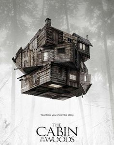 Movie Capsule: The Cabin in the Woods (2011) #poster