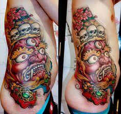 Tattoo Inspiration: Kostas Tzikalagias #dinh #quyen