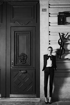 """Saint Laurent Couture Campaign """"Rue de l'université"""" #fashion #photography #YSL"""