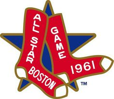 MLB All-Star Game Logo - Chris Creamer's Sports Logos Page - SportsLogos.Net #mlb #red #boston #1961 #all #massachusetts #sox #star #baseball