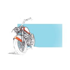 motorcycle, sketch, design, moto