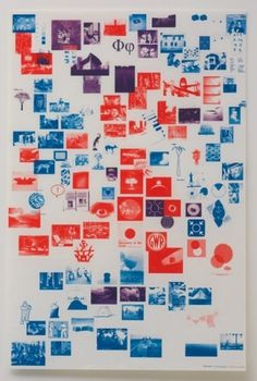 MY TUM—BLR IS BET—TER THAN YOURS #blue #red #poster