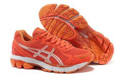Mens Asics Gt-2170 Mens Running Trainers Orange Shoes #shoes