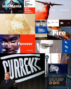 Current TV Identity on Behance #logo #brand #identity