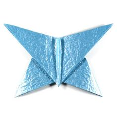 How to make a simple origami butterfly (http://www.origami-make.org/howto-origami-butterfly.php) #origami #butterfly #origamibutterfly #ori