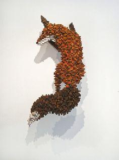 Mesmerizing Pixel Sculptures - My Modern Metropolis #pixel