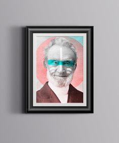 Art by Chris Jenkins #frame #old #design #illustration #portrait #art #man #collage