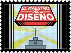 EL MAESTRO DEL DISEÃ'O. on the Behance Network #postal #design #videogame