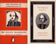 The Penguin Shakespeare: 1947 & 1949 | Flickr - Photo Sharing! #design #graphic #book #books #cover #tschichold #jan #penguin #typography
