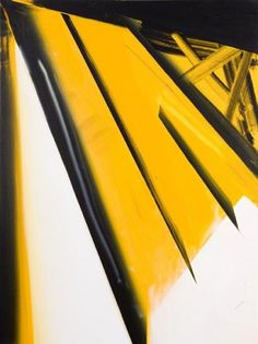 Phil Ashcroft // WORKS - Paintings #abstract #graphic #bold #jagged #painting