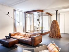 Parisian Apartment by CUT Architects - interior design, interior, decor, home decor, home design