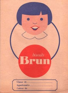 wordsandeggs: Vintage French exercise book, via... – daily design discoveries #illustration #vintage
