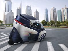 i ROAD electric vehicle