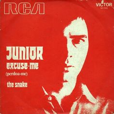 All sizes | Junior - Excuse Me b/w The Snake (1973) | Flickr - Photo Sharing! #record #vinyl #art