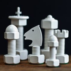 Classic Tool Chess Set #tech #flow #gadget #gift #ideas #cool