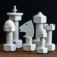 Classic Tool Chess Set #tech #flow #gadget #gift #ideas #cool
