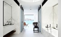 "PLASTOLUX ""keep it modern"" #bondi #greece #bathroom"